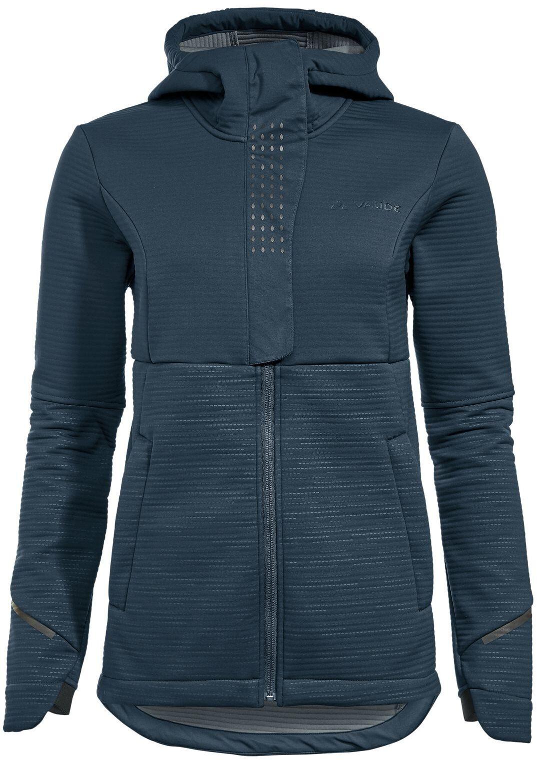 Bleu Steelblue VAUDE Womens Cyclist Winter Softshell Jacket Femme Taille
